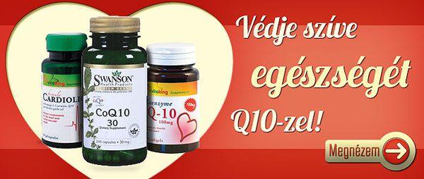 Védje szíve egészségét Q10-zel!